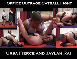 bbw catball fight