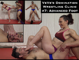 veve lane foot domination