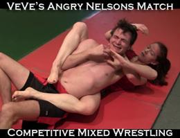 VeVe Lane Mixed Wrestling