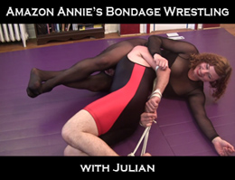 Amazon Annie Bondage Wrestling