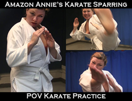 Amazon Annie Karate
