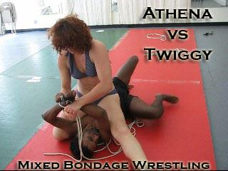 Bondage wrestling mixed VeVe's Wrestling
