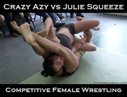 Crazy Azy vs Julie Squeeze