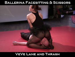 VeVe Lane Ballerina Facesitting