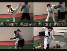 Bettie's Karate Strike-Fest