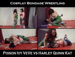 cosplay bondage wrestling