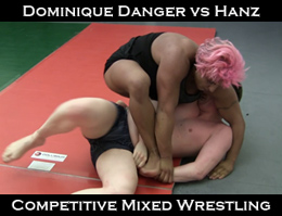 Dominique Danger vs Hanz 2013: Mixed Wrestling
