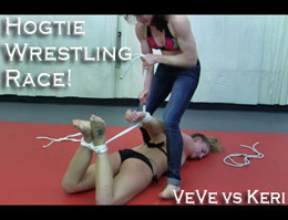VeVe Lane vs Keri: Hogtie