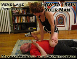 VeVe Lane's 'How to Train Your Man' Mixed Wrestling Domination