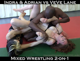 Indra and Adrian vs VeVe