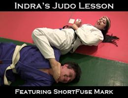Indra's Judo Lesson