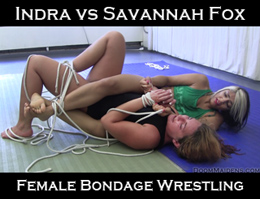 Indra vs Savannah Fox