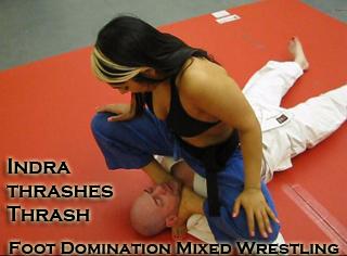 Domination male Mized wrestling