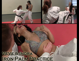 Iron Palm Karate VeVe Indra