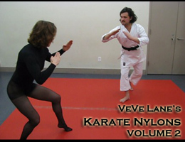 VeVe Lane's Karate Nylons Vol 2