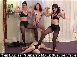 Subjugation the Femdom male of