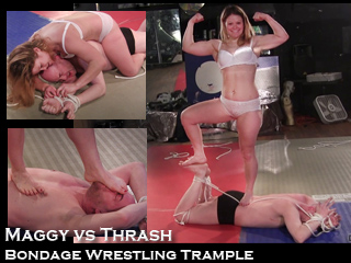 bondage then trample