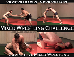 VeVe's Mixed Wrestling