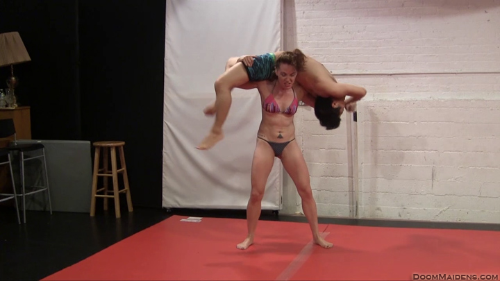 Mixed wrestling pro style full match