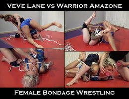 female bondage wrestling