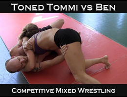 Toned Tommi vs Blazin Ben