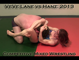 VeVe vs Hanz 2013: Mixed Wrestling
