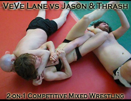 VeVe Lane vs Jason and Thrash