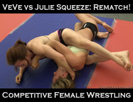 VeVe vs Julie Squeeze: Rematch 2013