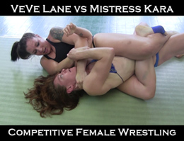 VeVe vs Mistress Kara