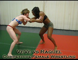 Competitive Female Wrestling Video
