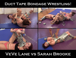 duct tape bondage wrestling