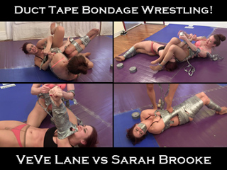 Electrical tape vs duct tape bondage