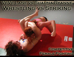 VeVe vs Shauna Ryanne: Competitive Female Fighting