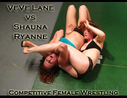 VeVe vs Shauna Ryanne: Competitive Female Wrestling