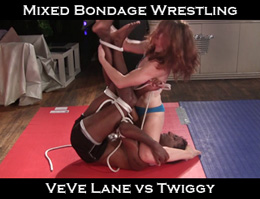 Mixed Bondage Wrestling
